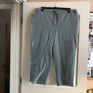 Talbots Women's Crop Pant